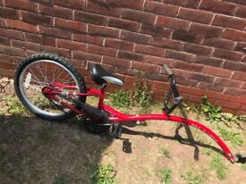 Trail bike forsale fab condition used twice