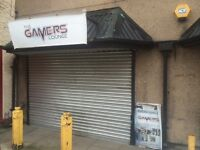 Computer shop or games centre ideal for gamers