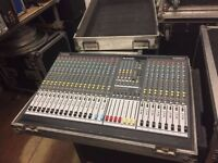 Allen & Heath GL2400 mixing desk with flightcase