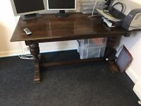 Solid Wood Office Desk / Table - Quick Collection Required