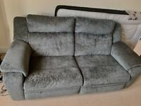 DFS 3 Seater Power Recliner Sofa - Like New