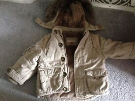 John Lewis Boys Winter Coat- 2 Years