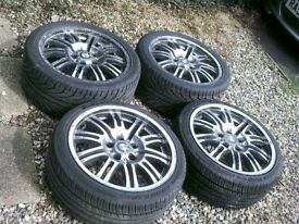 BMW E46 M3 SET 4 ALLOYS,,