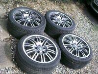 BMW E46 M3 SET 4 ALLOYS,,