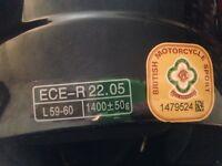 Vcan v220 motorbike scooter helmet