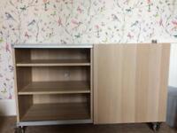 Sideboard with sliding door