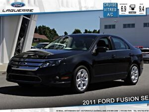 2011 Ford Fusion SE**BLUETOOTH*CRUISE*A/C* GR. ÉLECTRIQUE**
