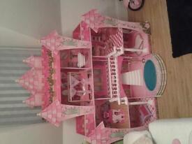 kidkraft far far away dolls house