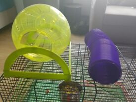 Gerbils cage