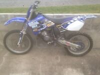 Yamaha yz 125, 2001, motocross bike