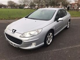 Peugeot 407 2.0 HDi GT (Grand Tourer), Automatic, Fully Loaded, Nav, 51 mpg, Full Service History