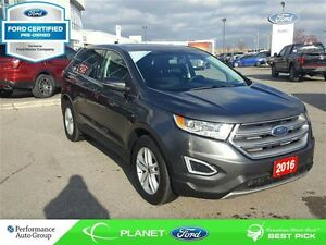 2016 Ford Edge SEL FORD CERTIFIED LOW RATES & EXTRA WARRANTY!
