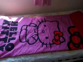 Hello Kitty girls envelope sleeping bag