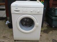 Washing machine,, 1200 Spin 6KG Bosch Washing machine.