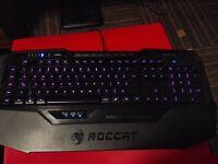 Roccat Isku FX Multicoloured Gaming Keyboard