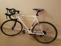 Viking Men's Vuelta STI 700 C 14 SPD Road Racing Bike - White, 59 cm