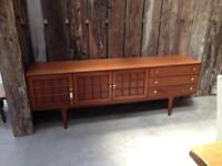 Retro vintage 1960's teak Danish sideboard