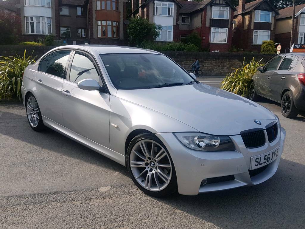2007 bmw 3 series 318i m sport 4 door silver low mileage. Black Bedroom Furniture Sets. Home Design Ideas