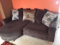 4 Seater Pillow Back Lounger Sofa