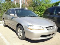 1999 Honda Accord EX Front-wheel Drive