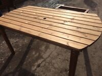 Garden table (heavy duty)