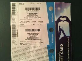 John Bishop - Winging It tour @ Peterborough arena
