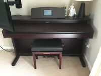 Top of the range Roland Electric Piano with matching stool
