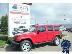 2012 Jeep Wrangler Unlimited Sahara 4x4, Seats 5 - 44,310 KMs