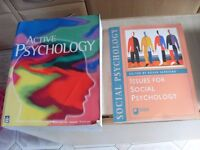 PSYCHOLOGY BOOKS FOR SALE JOB LOT ABOUT 20 CAN DELIVER £20 THE LOT !!