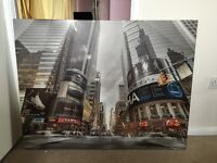 Large New York canvass picture