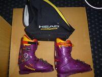 Gents Salomon Ski Boots Size 10 Used Two Seasons