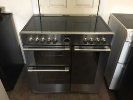 Stoves sterling 900E electric range cooker 90cm double oven 3 months warranty free local delivery!!
