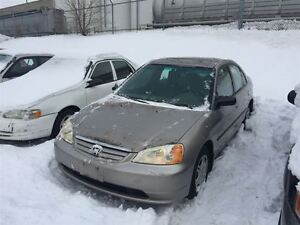 2002 Honda Civic DX-G ~ AS-IS ~