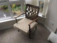 Charming small chair