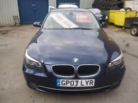 BMW 520D SE ,facelift model,4 door saloon,6 speed ,sports interior,full MOT,clean tidy car,GP07LYR