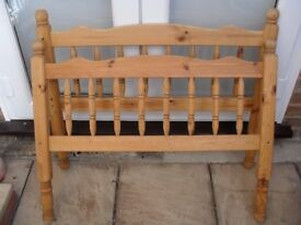 Pine Bed Spares, Single size (ideal for reworking) - Ipswich area