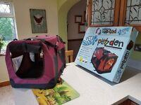 Petzden indoor/outdoor pet carrier