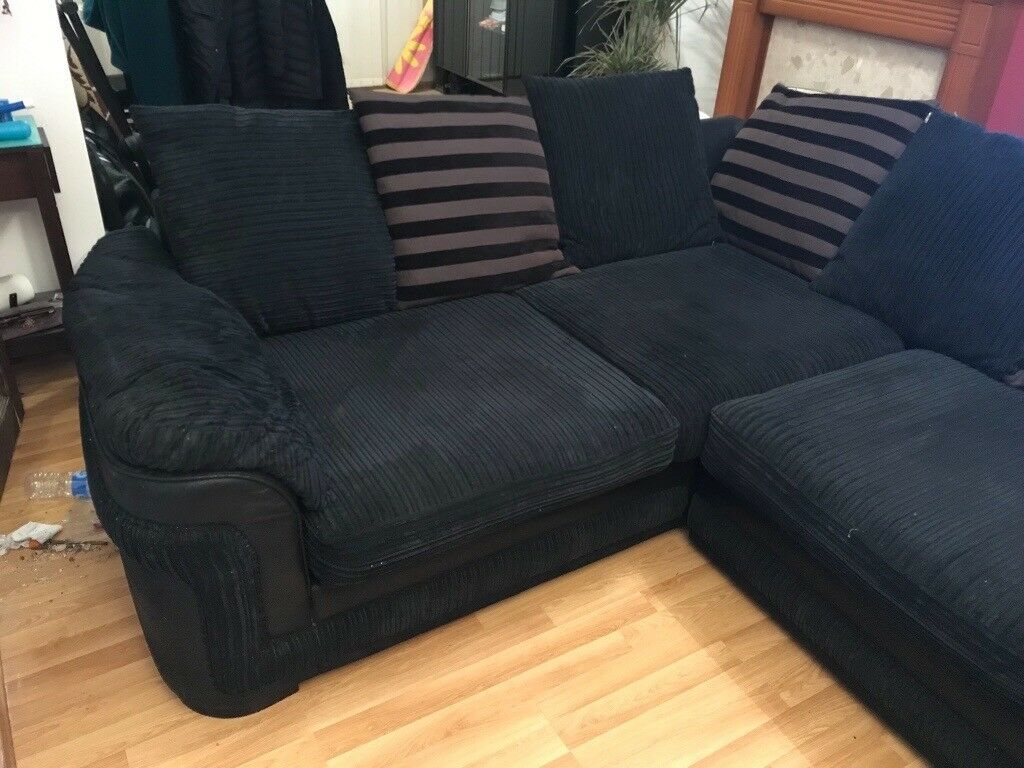 size 40 dc332 4ab0c DFS L shaped corner sofa in excellent condition | in Bournemouth, Dorset |  Gumtree