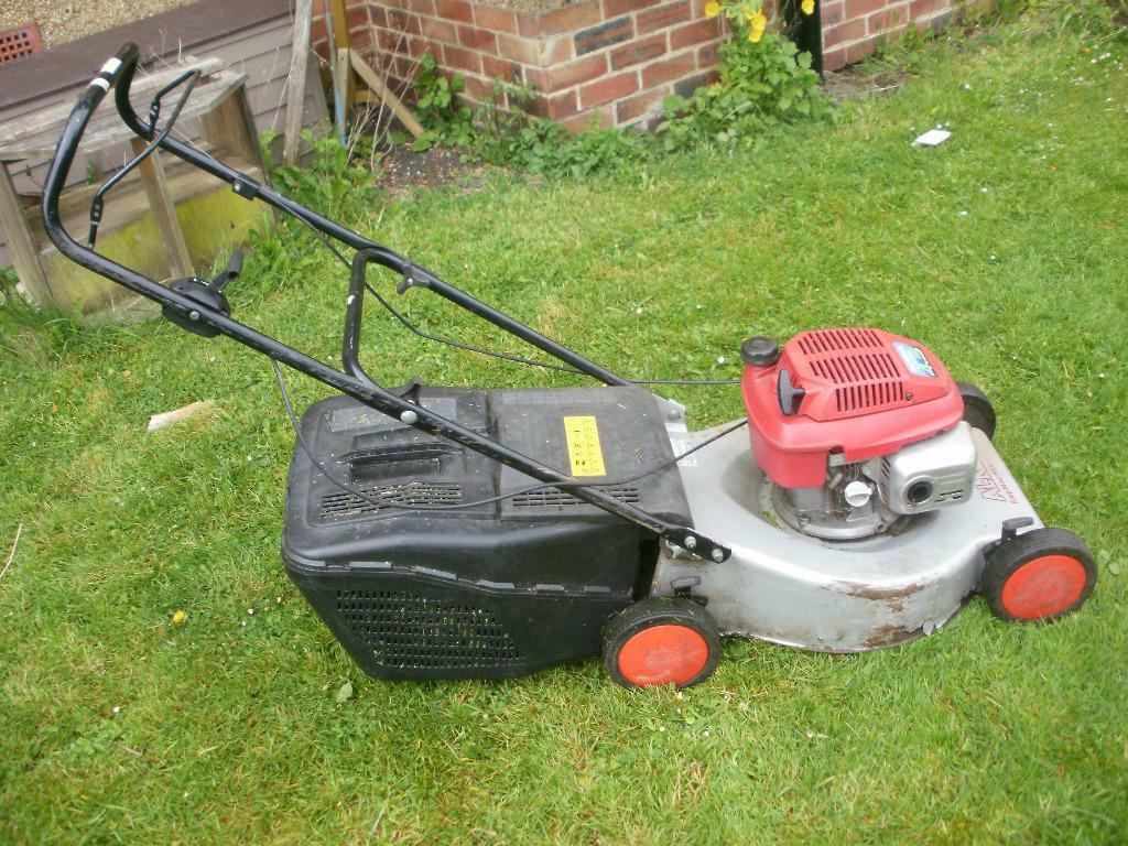 Petrol Lawnmower Alko Honda 4 5 4 Stroke Engine Push