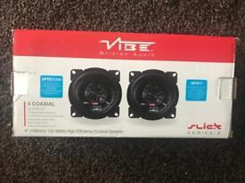 Brand new vibe 4 inch speakers