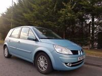 2007 RENAULT SCENIC MPV FACELIFT MODEL 2.0 PETROL 6SPEED GEARBOX MOT JANUARY 2018 GOOD CONDITION