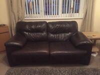 Quality leather sofas