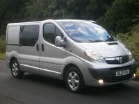 2012(12) Vauxhall Vivaro Sportive 2900 COMBI CREW CAB IN VAN 6 seater, A/C, ALLOYS, FINANCE??