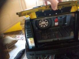 Remote control licensed 12v ride in hummer jeep kids toy.