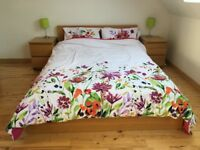 IKEA Malm Double Bed incl. Mattress