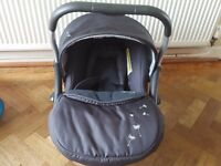 Silver Cross Baby Carrier Car Seat