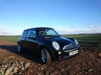 Mini Cooper 1.6, 54 plate, 60100 miles, black, Chili pack, petrol, manual