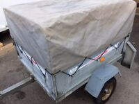 ERDE 102 Trailer - With high top cover