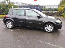 RENAULT MEGANE 1.6 DYNAMIQUE WITH FULL GLASS PANORAMIC ROOF 5 DOOR HATCHBACK PART EX WELCOME