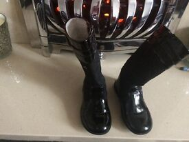 Girls designers boots infant size 7